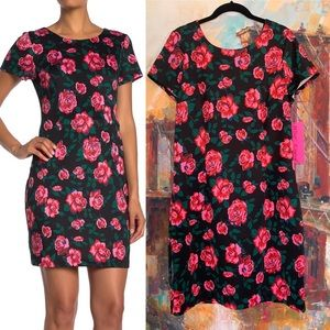 Betsy Johnson Full Bloom Rose Dress Size 10
